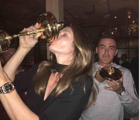Rickie Fowler gets the birthday party started