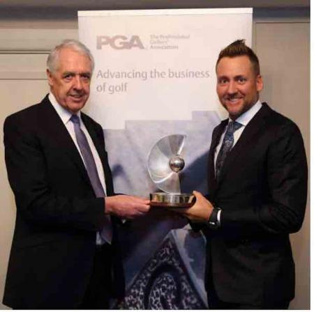 Poults gets PGA recognition