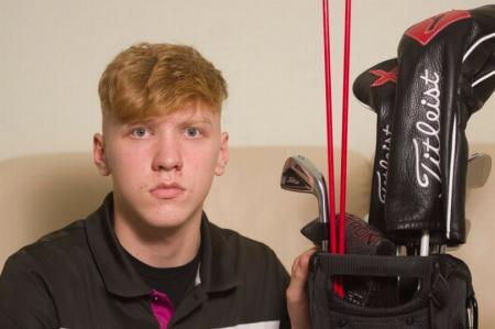 Teenager banned from golf club after relieving himself al fresco