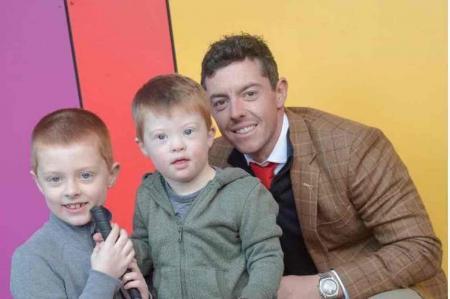Rory visits new Mencap Centre
