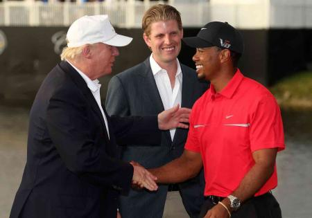 Tiger rumored to be teeing it up with Trump