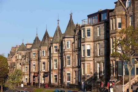 Street leading to Old Course most expensive in Scotland