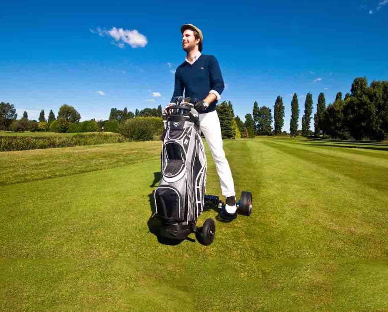 Is it a golf cart or is it a trolley?