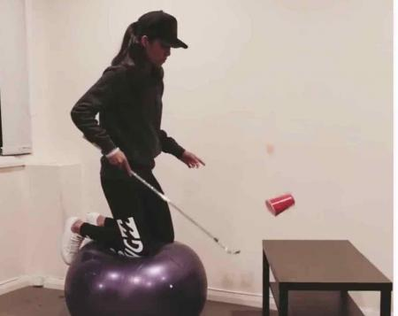 Tania Tare is the new trick shot queen