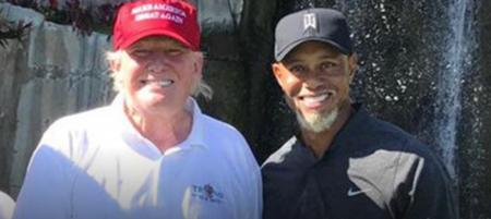 Tiger adds Trump to his list of President golf buddies