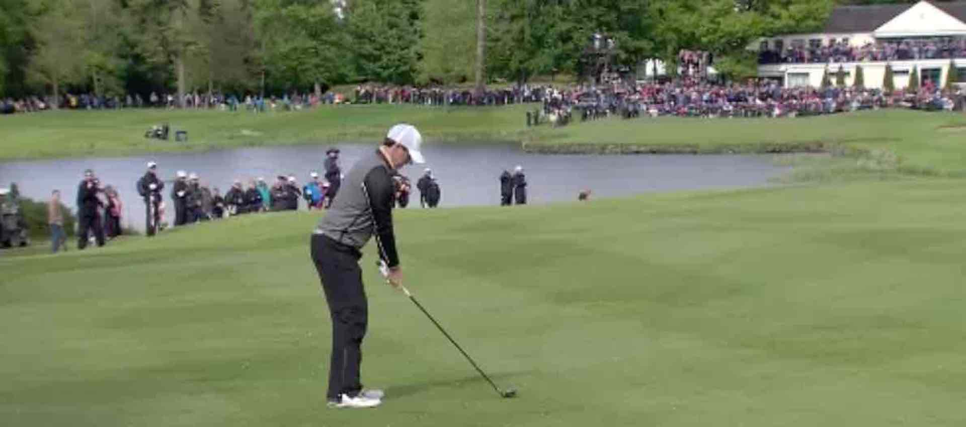 Rory McIlroy wins European Tour shot of the year