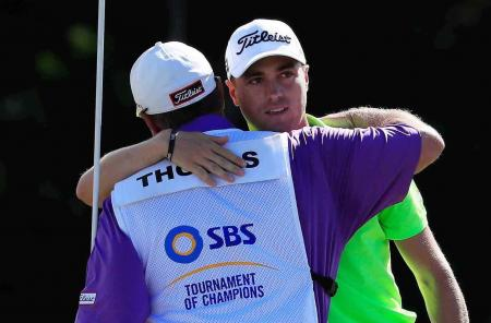 Justin Thomas wins the SBS Tournament in Hawaii