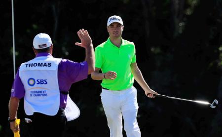 Betting odds slashed on Justin Thomas