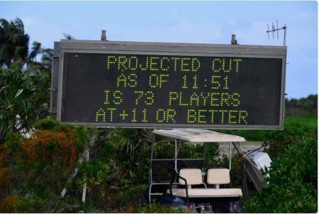 Golf bedlam in the Bahamas