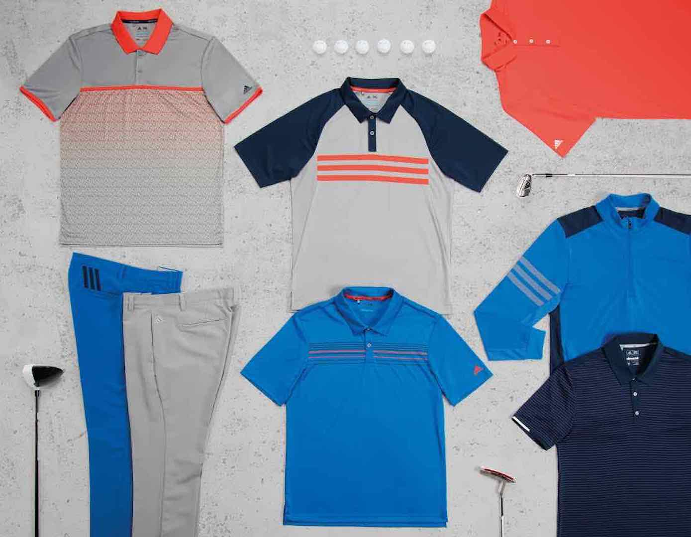 adidas Golf launch 2017 Spring / Summer collection