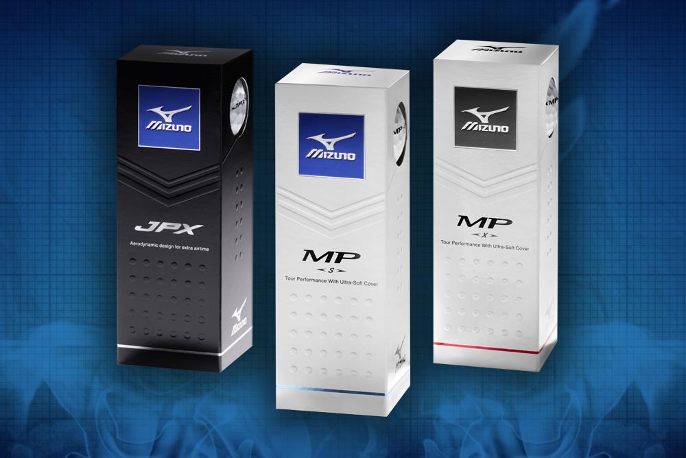 MIZUNO JPX, MP-S, AND MP-X GOLF BALLS