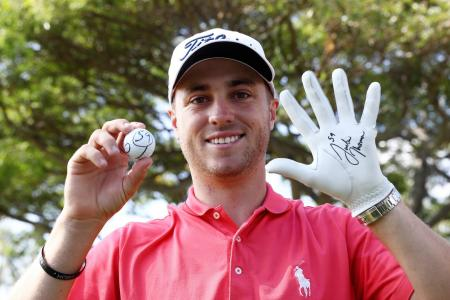 Justin Thomas youngest ever to shoot 59