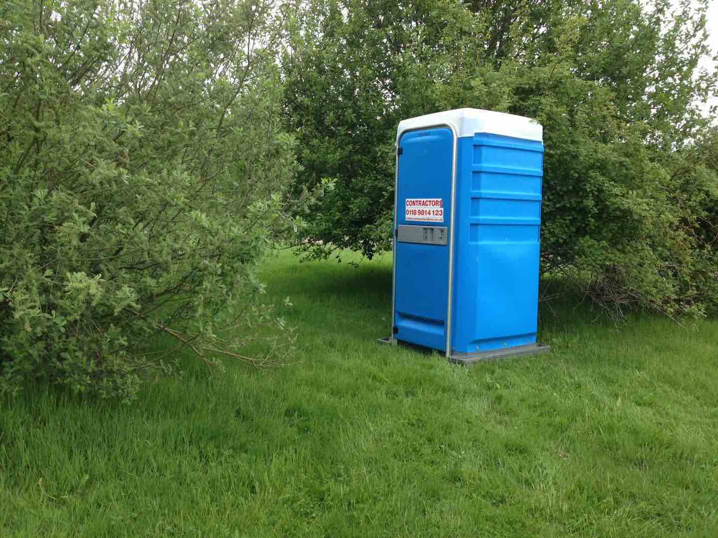Golfer sues after being hit by Portaloo