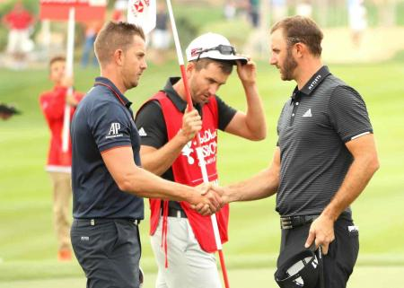 Henrik Stenson off to a flyer in Abu Dhabi