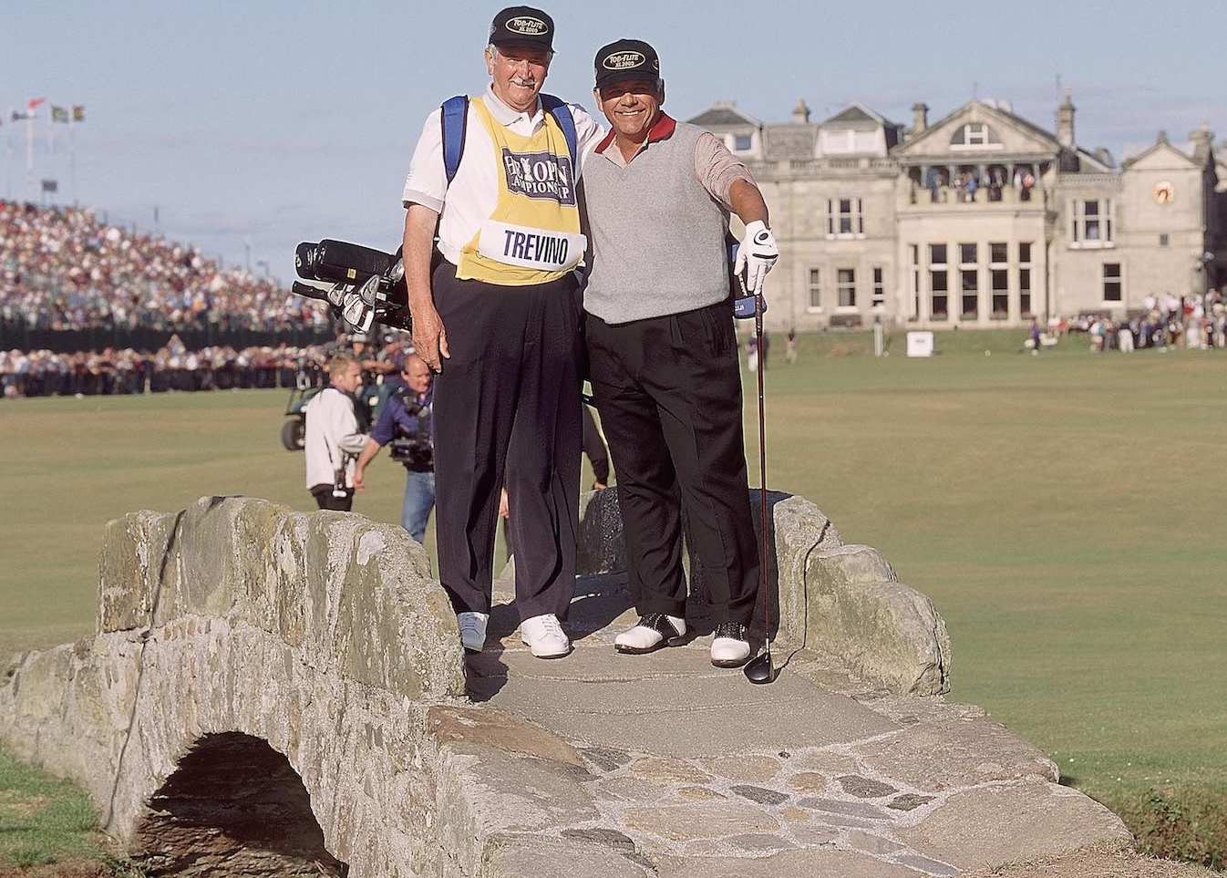 Golf's Top 20 Caddies Of All Time