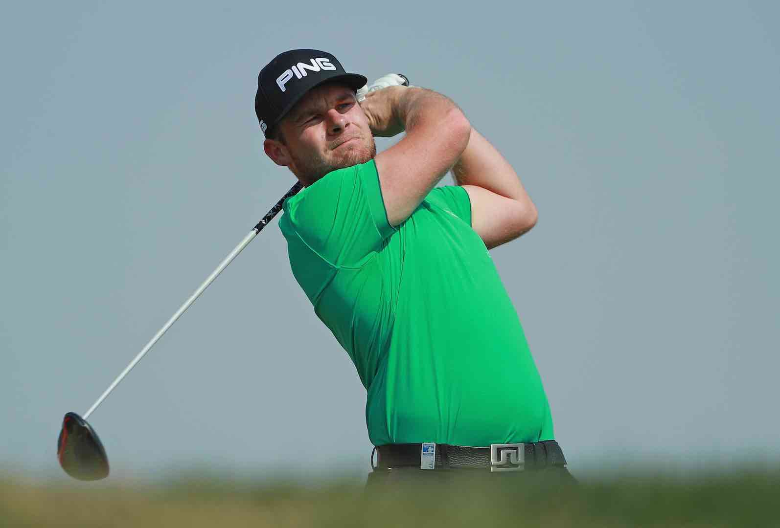 Tyrrell Hatton leads in Abu Dhabi