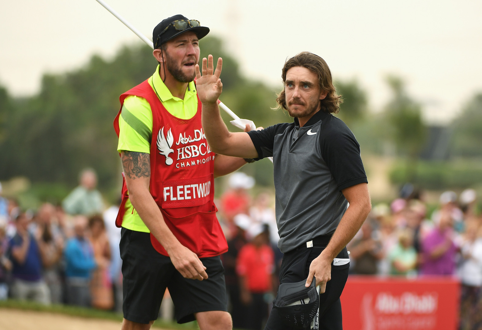 Tommy Fleetwood supports March of the Men campaign