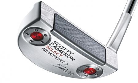 Titleist reveal new Scotty Cameron Select Newport 3
