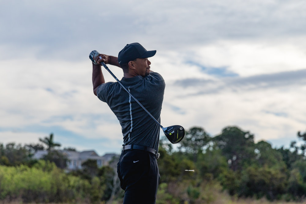 Tiger Woods signs for Taylormade!!