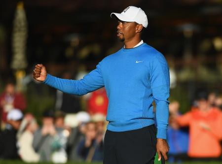 Watch Tiger's first round at Torrey Pines