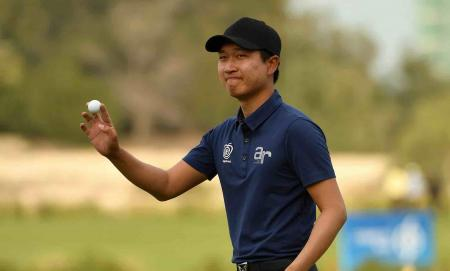 Jeunghun Wang leads in Qatar
