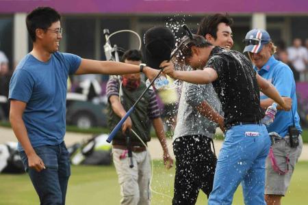 Jeunghun Wang wins in Qatar
