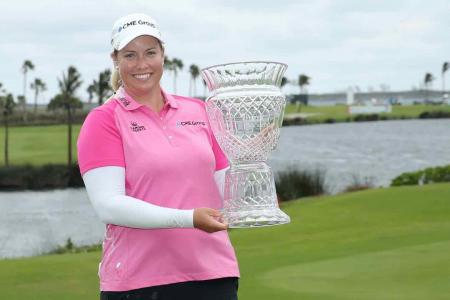 Brittany Lincicome beats Lexi Thompson