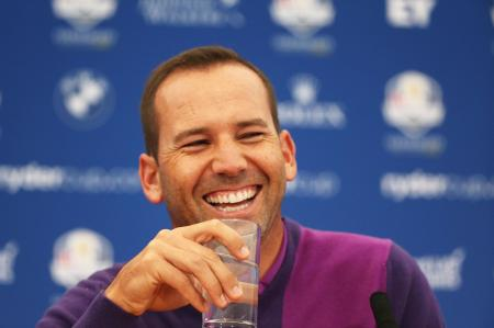 Sergio Garcia makes fan's caddie dream come true