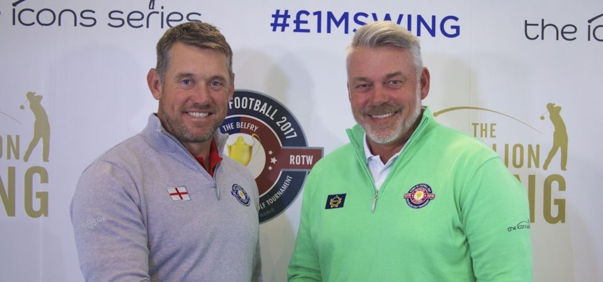 Lee Westwood launches Icons of football