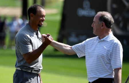 Tiger Woods tee time Dubai Desert Classic