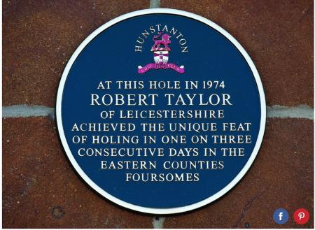 Incredible hole–in–one story!