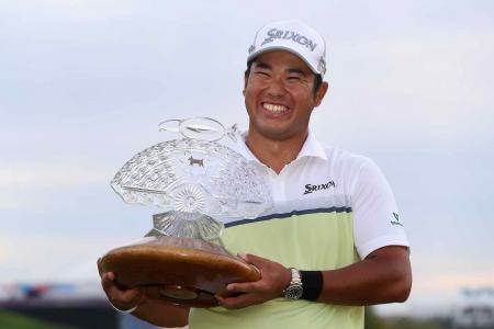 Hideki Matsuyama wins the Phoenix Open