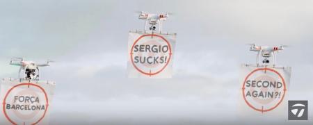 Sergio Garcia versus the drones