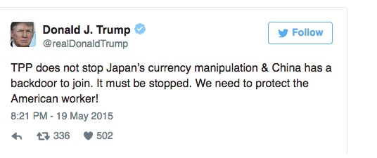 Trump upsets Japanese through golf