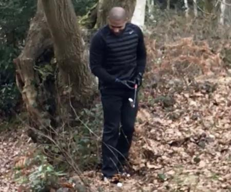 Epic golf fail from Stoke's right back