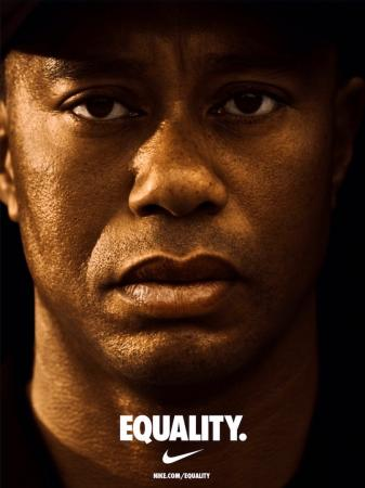 Tiger shows support for Nike Equality campaign