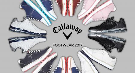 Callaway unveil 2017 footwear range