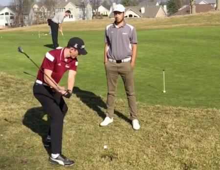Epic golf fail video