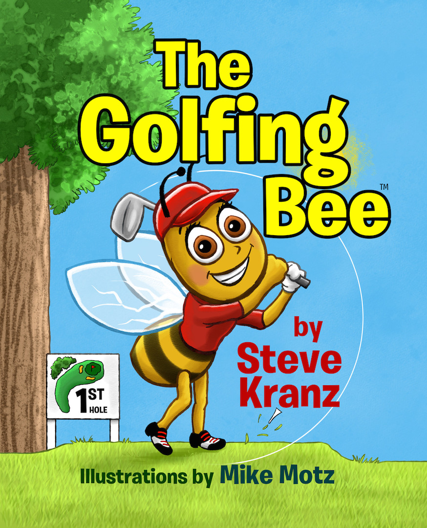 Bees learn how to play golf