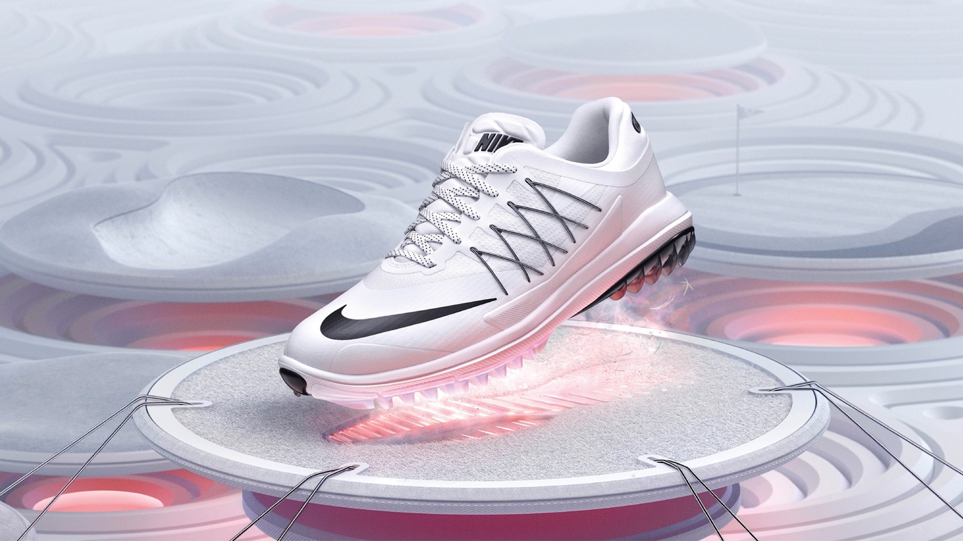 Rory McIlroy tees it with Nike Lunar Control