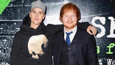 Ed Sheeran & Justin Bibier golf trick shot fail