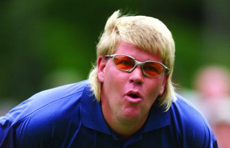 Golf bedlam – Ouch! John Daly