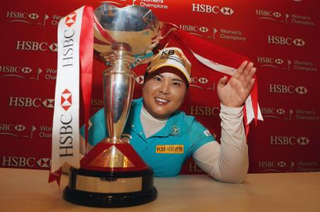 Inbee Park wins HSBC in Singapore