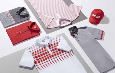 Ping 2017 Men's performance polo collection