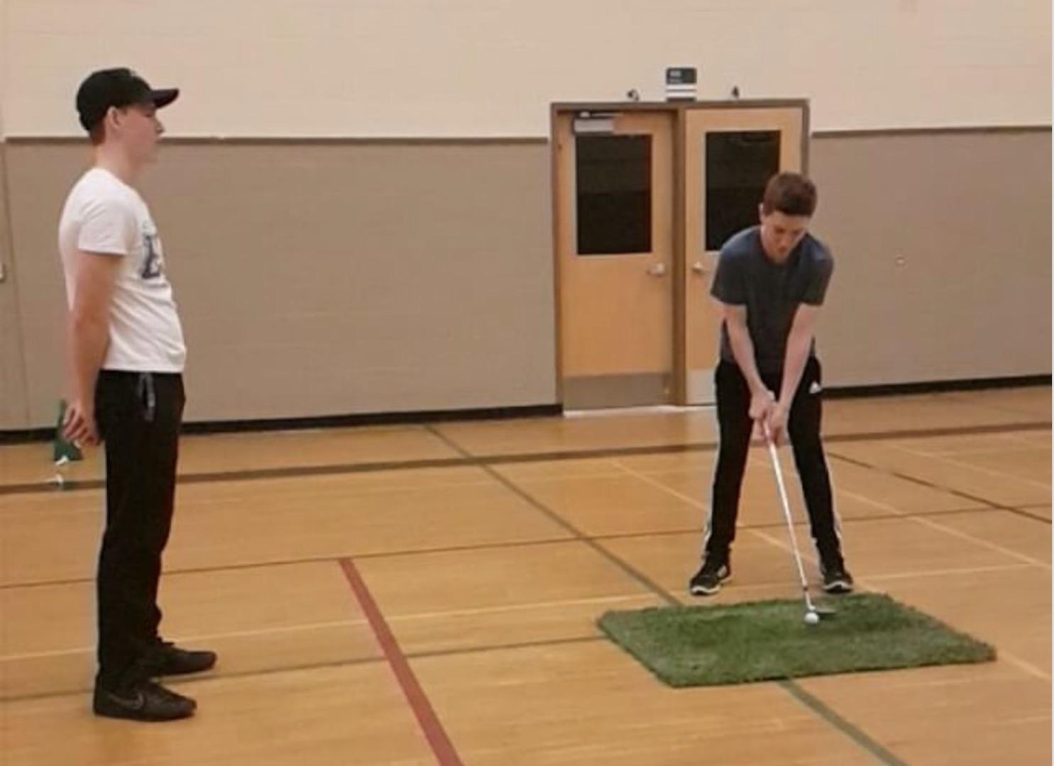 Bowling alley trick shot