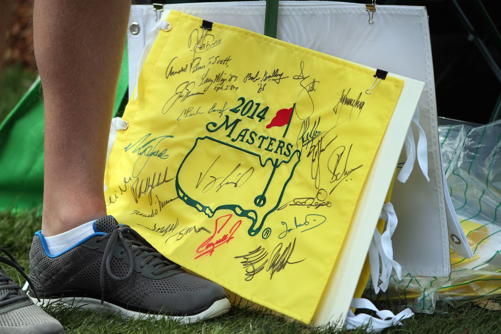 Ernie Els gets early Christmas present from Augusta National
