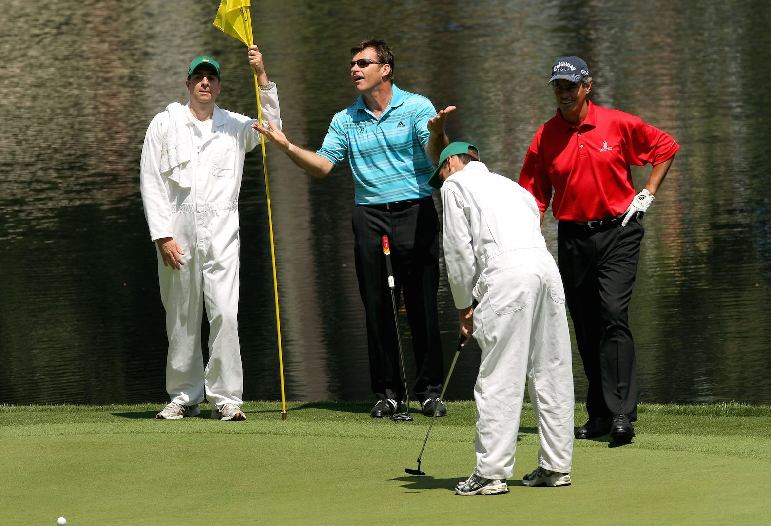 Augusta cuts field for Par-3 contest
