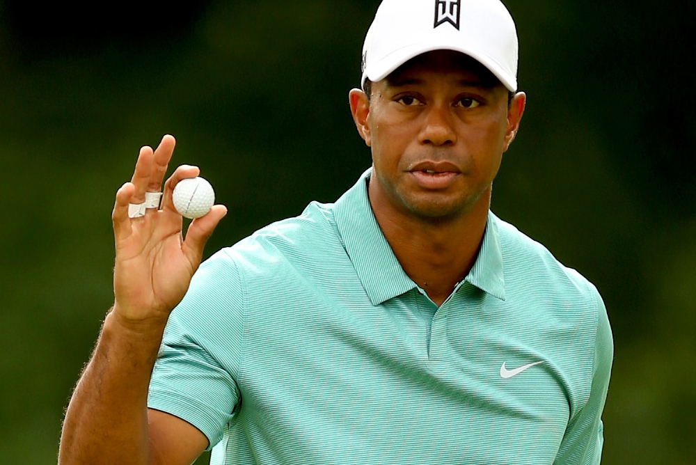 tiger woods at the greenbrier classic