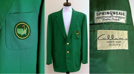 Charity Shop Green Jacket sells at auction