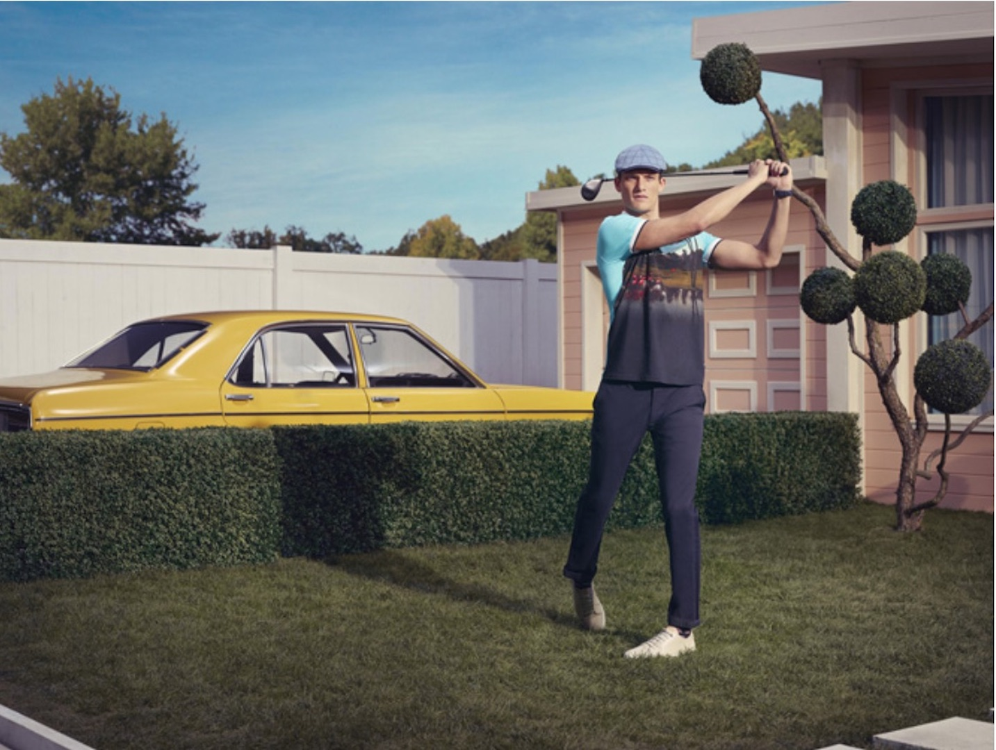 Ted Baker launches first ever golf range